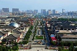xian china wild goose pagoda