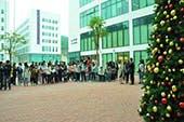Chinese University of Hong Kong, Shenzhen Christmas Tree Lighting Ceremony