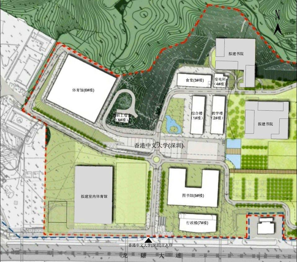 cuhk start district plan