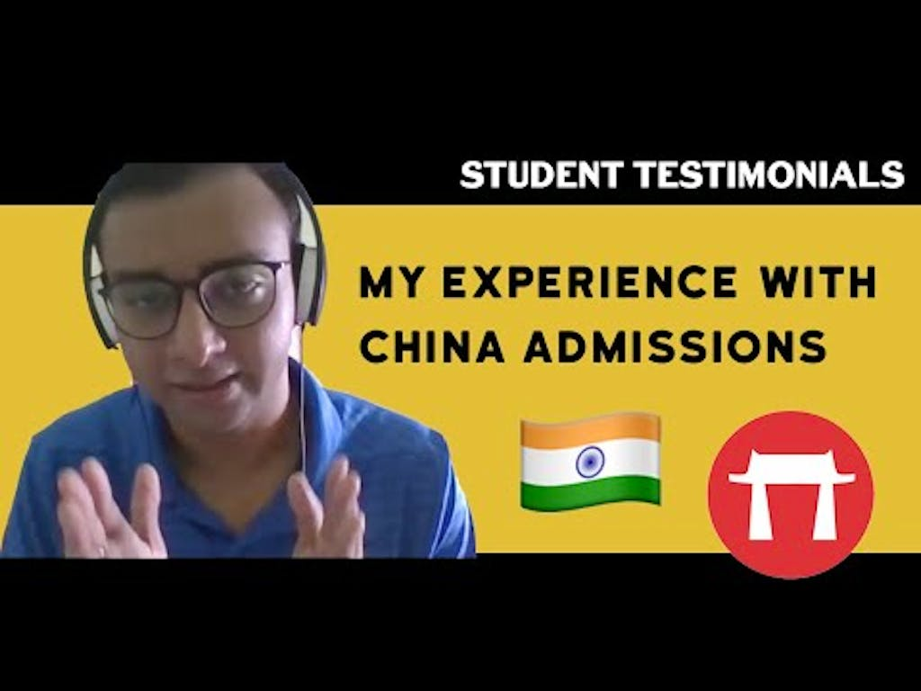 China Admissions Helped Me Apply To Top Chinese Universities!